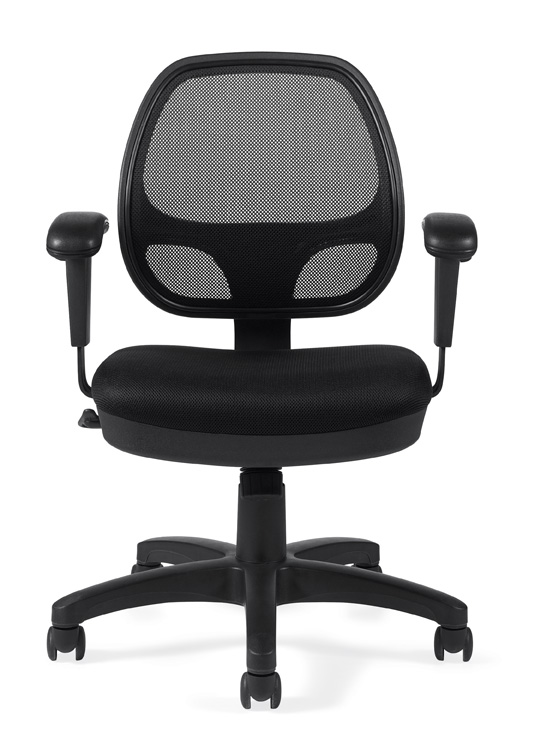 Mesh Bach Chair from Global