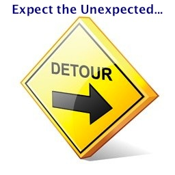 detour expect the unexpected